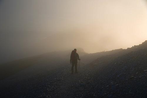 五里霧中の状態