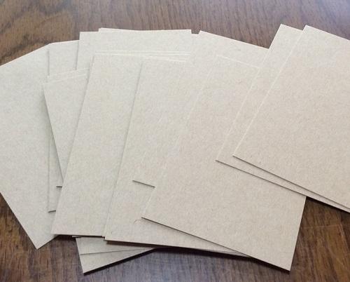 アルファベットカード用紙