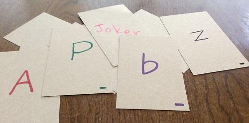 アルファベットを覚えるゲーム
