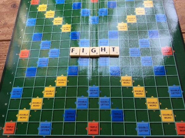 スクラブルボードゲーム