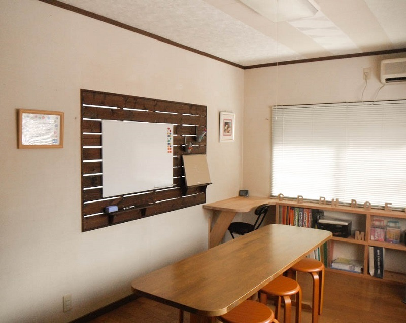 英語島塾の教室風景
